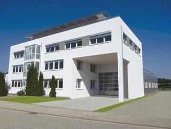 Das Gebäude der Michael Koch GmbH.