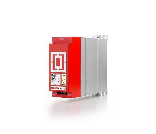 Ergänzendes Speichervolumen bringen die Energiemodule PxtEX für die aktiven Energiemanagementgeräte der Michael Koch GmbH  PxtRX ist das aktive Energiemanagementgerät für elektrische Antriebe.