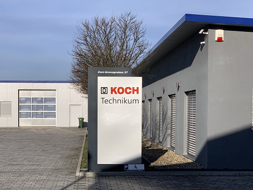 Herzlich willkommen im neuen Technikum der Michael Koch GmbH