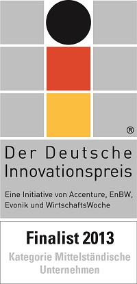 Logo of the German Innovation Award 2013
