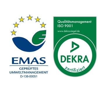 EMAS and DEKA LOGO