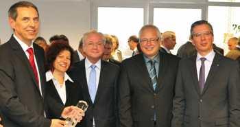 Offizielle Feier aufgrund der Auszeichnung mit dem Großen Preis des Mittelstandes Finalist.