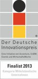 Deutsche Innovationspreis Finalist 2013