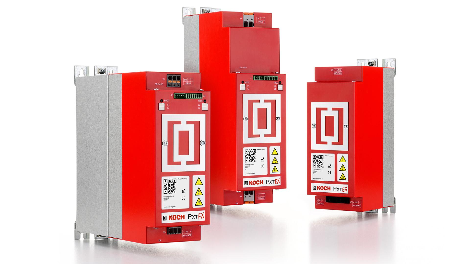 PxtFX, PxtRX und PxtEX - die Energiemanagement-Drillinge